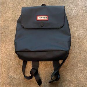 Hunter for target navy pvc medium backpack